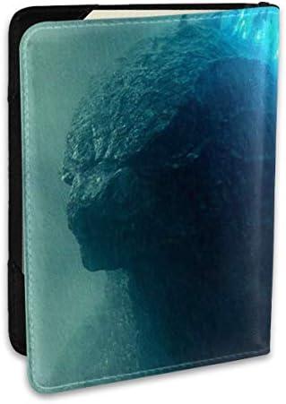 Godzilla Monsters ゴジラ モンスター パスポートケース パスポートカバー メンズ レディース パスポートバッグ ポーチ 収納カバー PUレザー 多機能収納ポケット 収納抜群 携帯便利 海外旅行 出張 クレジットカード 大容量