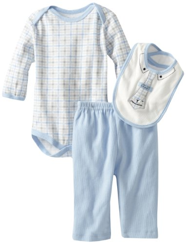 Rene Rofe Baby Newborn Boys Just Like Daddy 3 Piece Set