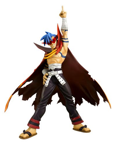Gurren Lagann: Kamina PVC Figure 1/8 Scale by Eye-up