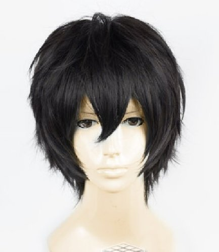 Black Short CosPlay Anime Wig