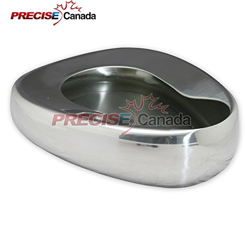 """PC STAINLESS STEEL BED PANS - ADULT: 14"""" X 11 3/8"""" QUALITY BED PANS"""