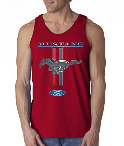 ford-mustang-logo-cobra-gt-500-cars-hot-rides-snake-tank-top-shirt-s-2xl-red-m