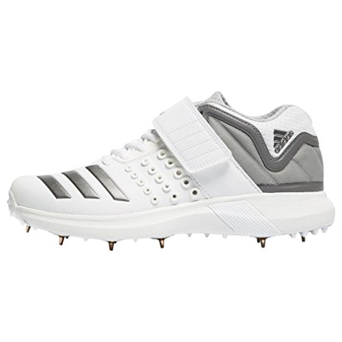 save off d5ae5 7c195 adidas Adipower Vector Mid Cricket Shoes - SS18-9 - White - Buy ...