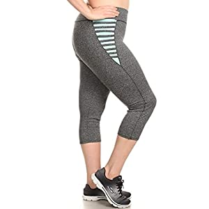 Womens Plus Size Leggings Sports Yoga Pants