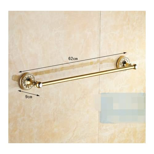 Gold Towel Rails For Bathrooms: European Style Towel Rack/Towel Bar/gold-plated Towel Rail