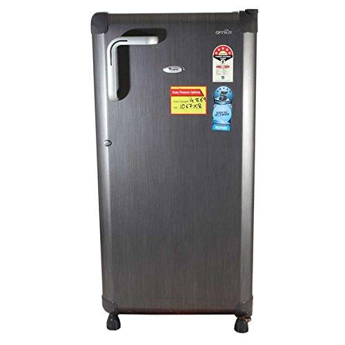 Whirlpool 200 L 4 Star Direct Cool Single Door Refrigerator Genius Premier, Grey