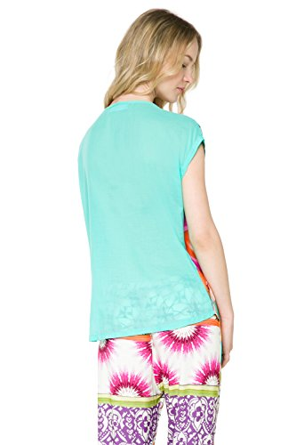 Desigual - Camiseta - para mujer Violet (Lila Flandes)