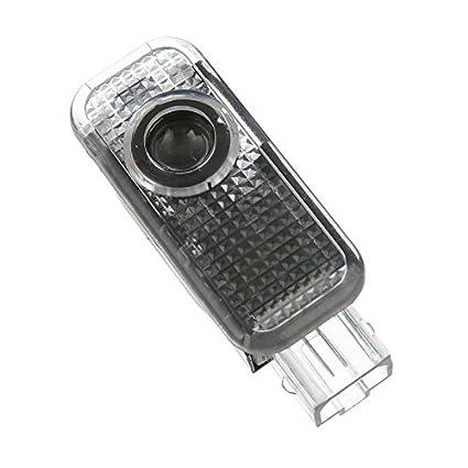 LED Entr/ée /Éclairage HD voiture Porte lumi/ère QJZoncuji 2 Xvoiture de porte Logo /Éclairage