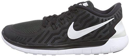 De Course noir Blanc Chaussures Gris 0 5 Femmes Nike Fonc 002 Noir Taupe Free UxnpqX4nYZ