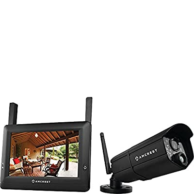 "Amcrest 7"" Touchscreen Monitor with 720p HD Wireless Camera by Amcrest"