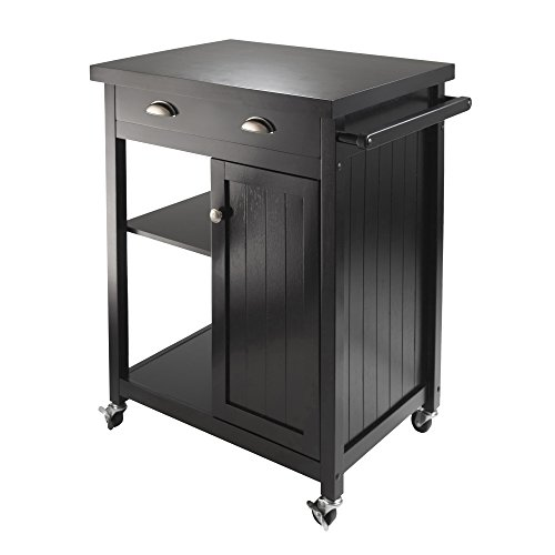 Winsome 20727 Timber Kitchen, Black