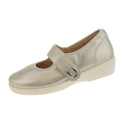 White Lacets À Eu Chaussures Off Ville Multicolore Ganter Pour 38 Femme De Gold wRBqSzf