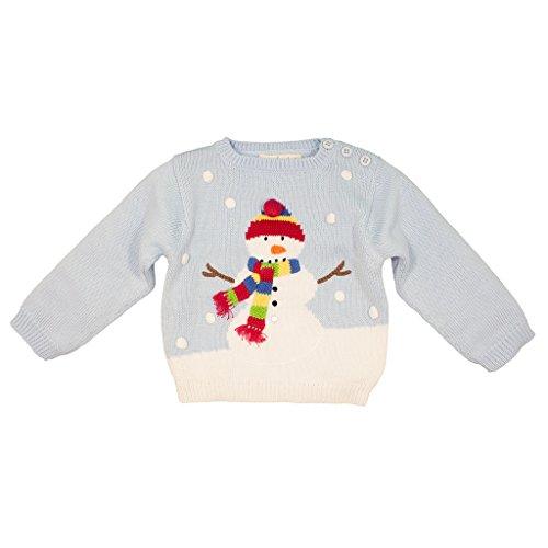 Zubels 100% Hand-Knit Mittens The Snowman Sweater All Natural Fibers (4T)