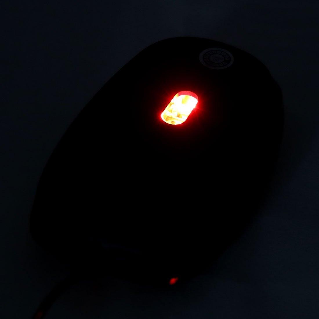 Amazon.com: eDealMax Oficina PC Ordenador portátil LED Rojo USB 2.0 ratón óptico de 800 DPI ratones 3D: Electronics