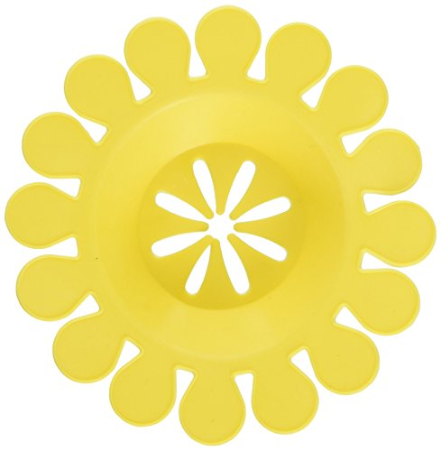 Compac Sink Daisy Scented Kitchen Sink Strainer, Lemon, 6 Count (Daisy Clog)