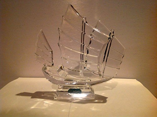 """Crystal"""" Chinese Junket"""" Figurine By J.G. Durand: France"""