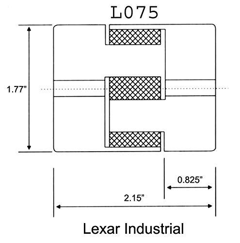 Lovejoy 69790434364 Steel FCX 5.5 Hub 7-3//4 Bore 11.28 OD 2 x 3//4 Keyway 6.91 Length Through Bore