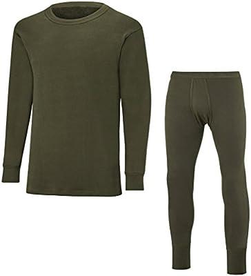 Bundeswehr Peluche – Ropa – Pantalón y manga larga camiseta, verde oliva, 9: Amazon.es: Deportes y aire libre