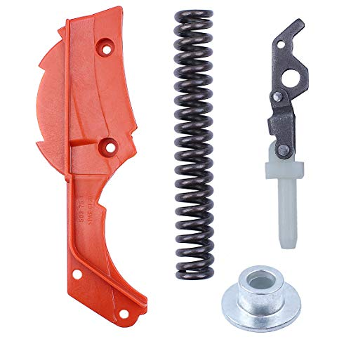 Chain Brake Cover/Spring/Knee Joint/Bushing Sleeve for Husqvarna 362 365 371 372 372XP Chainsaw 503764801/503 70 99-01 ()