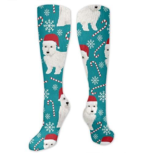 Fechahao West Highland Terrier Christmas Tube Socks Graduated