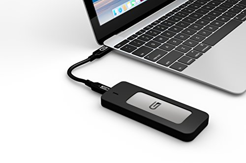 Glyph 1 TB Atom USB 3.1 Type-C External Solid State Drive - Silver by Glyph Production Technologies (Image #3)