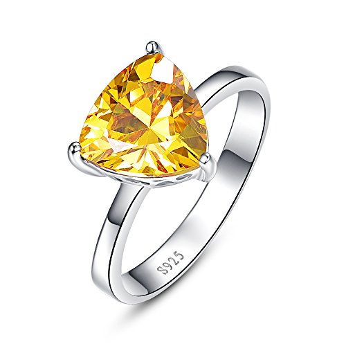 yellow engagement rings - 8