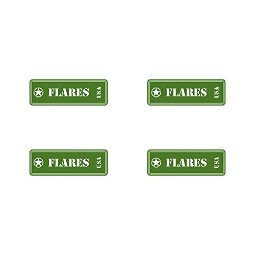 Flares Ammo Can Sticker Set Classic Edition Decal FA Vinyl