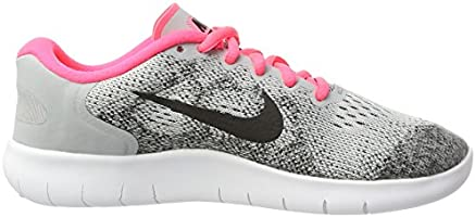 Running Shoes NEW 904258 001 Grey//Black// Pink NIKE 6  Y Kids Free Rn 2017 GS