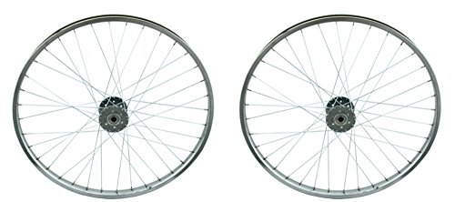 "Lowrider Two Chrome 26"" 36 Spoke Hollow Hub Wheels for Trike."