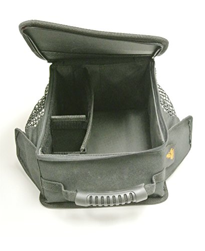 hRider Black Diamond Under Seat Organizer for 2007-2018 Wrangler JK (Bestop Jeep Seats)