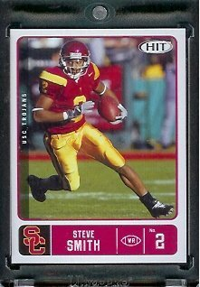2007 SAGE HIT Steve Smith #42 USC Trojans - RC - Rookie Football Card
