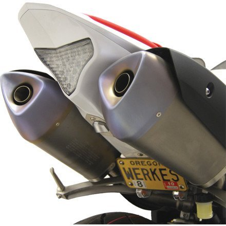 09-13 YAMAHA YZF-R1: Competition Werkes Fender Eliminator Kit - LTD Pivot License Plate Mount