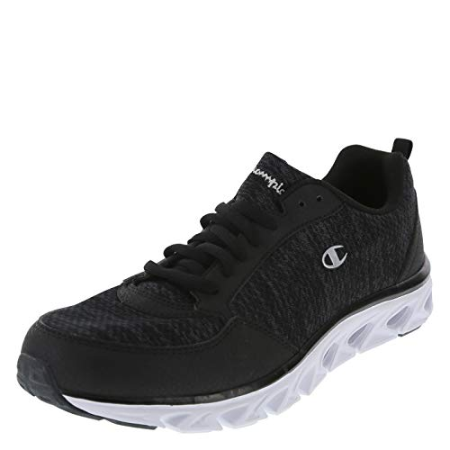 Champion Black Men's Flexion Runner 11 Regular (Champions Sneakers Men)