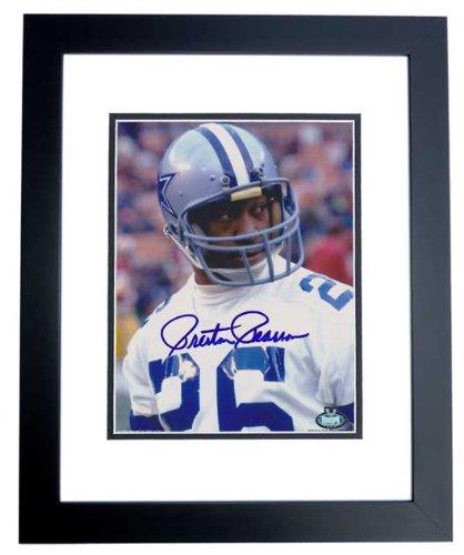 7e85da61f12 Preston Pearson Signed - Autographed Dallas Cowboys 8x10 inch Photo BLACK  CUSTOM FRAME
