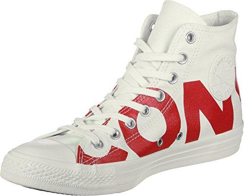 Converse 159532 Chuck Taylor All Star, Baskets Mixte Adulte, Blanc Blanc