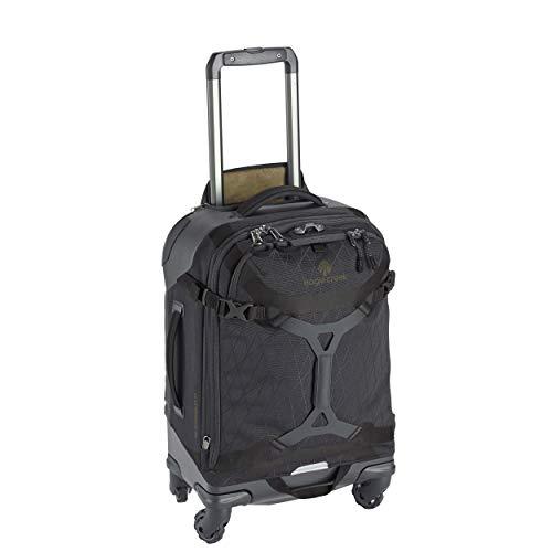 Eagle Creek Gear Warrior 4-Wheel Carry-On Luggage, 22-Inch, Jet Black (Eagle Creek Switchback 22 Best Price)