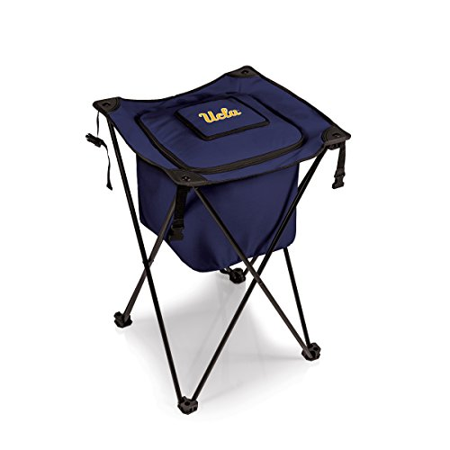 NCAA Michigan Wolverines Sidekick Insulated Portable Cooler with Integrated Legs, Navy
