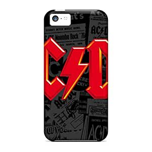 Durable Cell-phone Hard Covers For Iphone 5c (DmL19743DOtg) Custom Lifelike Red Hot Chili Peppers Skin
