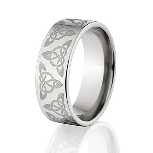 Celtic Ring, Celtic Wedding Bands, Celtic Knot Ring, Celtic Wedding Rings Custom USA Made (Custom Mens Wedding Bands compare prices)