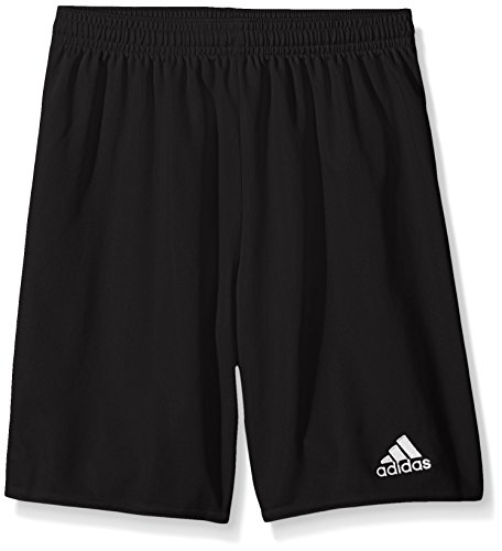 adidas Youth Parma 16 Shorts, Black/White, Medium (Youth Waist Length Football Jersey)