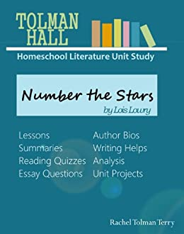 amazon com study guide number the stars by lois lowry tolman hall rh amazon com Number the Stars Comprehension Questions number the stars guided reading questions