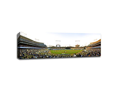 Dodger Stadium MLB Canvas 48x16