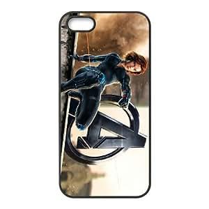 Preview Black Widow Avengers 2 2 funda iPhone 4 4S caja funda del teléfono celular del teléfono celular negro cubierta de la caja funda EOKXLKNBC12102