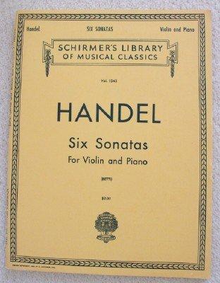 Handel Six Sonatas - 6