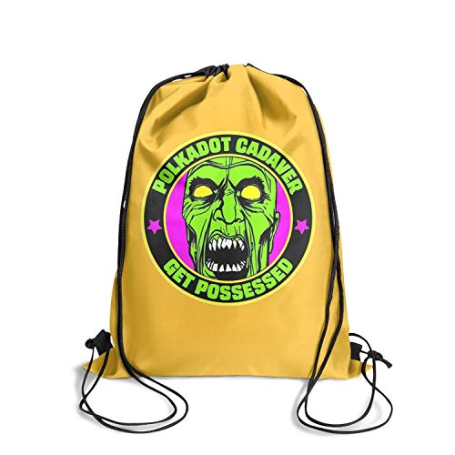 (String Cinch Sack Drawstring Backpack Bag Popular Polkadot Gadaver Gift for Girls)