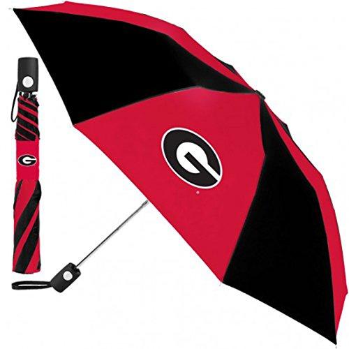 WinCraft University of Georgia Bulldogs Umbrella 42 inches automatic (Bulldogs Umbrella)