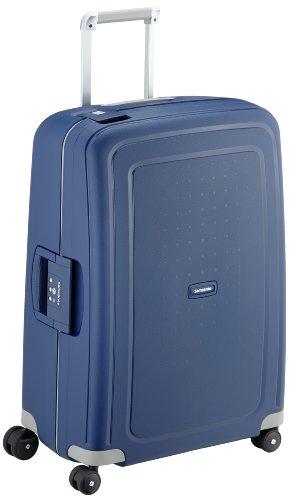 Samsonite S'Cure Spinner – Maleta de equipaje, M (69 cm – 79 L), Azul (Dark Blue)