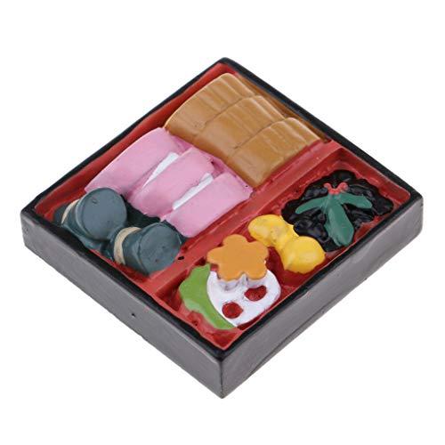 NATFUR 1:12 Cute Dollhouse Miniature Food Cake Pastry Box Kitchen House Decoration