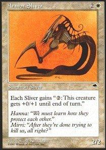 Magic: the Gathering - Armor Sliver - Tempest