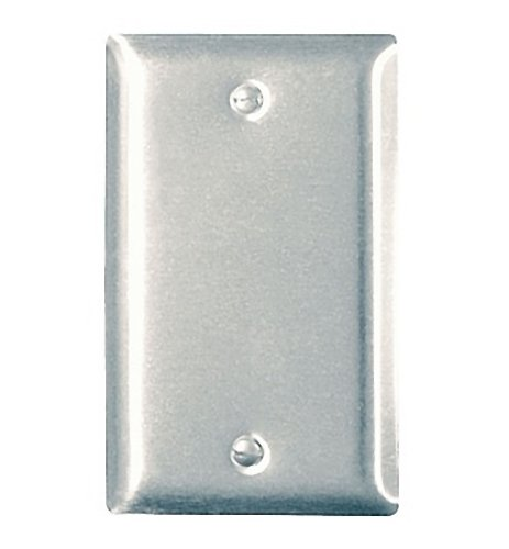 (Legrand - Pass & Seymour SS13CC25 Stainless Steel Wall Plate Single Gang Blank Easy Installation)
